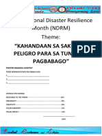 2019 National Disaster Resilience Month