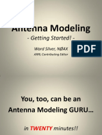 Antenna Modeling - Getting Started