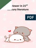 Reviewer in 21st Century Literature