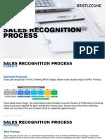 Sales Recognition Process