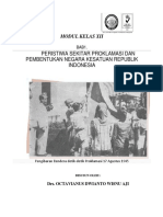 Modul Sejarah Kelas Xii Peristiwa Sekitar Proklamasi