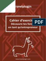 Cahier Exercices Comment Decouvrir Tes Forces en Entrepreneur