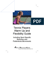 Tennis Warmup Guide