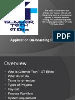 Glimmertech requirements