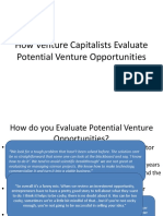 How VC Evaluates