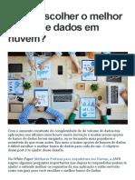 Como Escolher o Melhor Banco de Dados Em Nuvem_ _ André Faria
