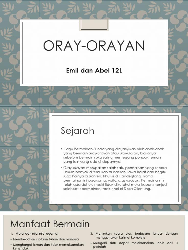 Oray Orayan