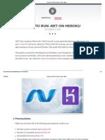 How to Run .NET on Heroku _ Coder's Block
