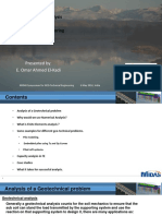 Finite Elements Analysis for Geo-Technical Engineering