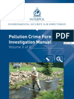 INTERPOL Pollution Crime Forensic Investiation Manual - Volume 2 En