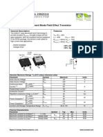Aod417 Mosfet Canal p