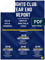Insight's Club Year End Report