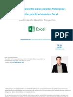 Formación Práctica Intensiva Excel Herramienta Gestión Proyectos