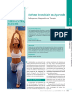Bronchial asthma diagnosis and treatment in Ayurveda