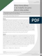 9 Estimulação elétrica transcutânea no alívio da dor do trabalho de parto revisão sistemática e meta-análise.pdf