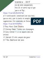 lista pk bellas