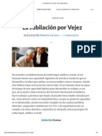 La Jubilación Por Vejez - Mi Trabajo Bolivia