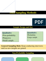 5. Data Sampling Methods