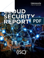 2019 Cloud Security Report sponsored by (ISC)².