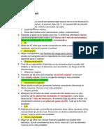 Examen de Ginecología