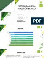 Diapositivas Factibilidad Inyeccion de Agua