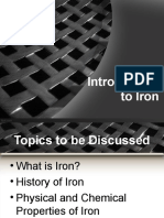 Introduction to Iron