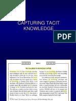 Unit6 Capturing Tacit Knowledge Revised