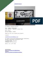 Dr Romesh's Banking Details - WPACAU2S 733120-534507