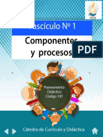 Didactica, componenetes y procesos