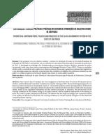 Contradições Teóricas, Políticas e Práticas No Sistema de Atribuições de Aulas No Estado de Sp