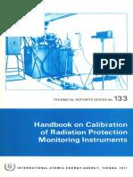 Calibration of radiation meters