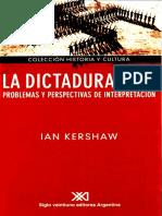 KERSHAW, Ian - La Dictadura Nazi. Problemas y Perspectivas de Investigación