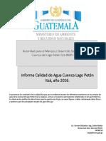 Informe Calidad de Agua 2016 AMPI