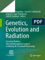 Korogodina Victoria L Et Al (Eds) 2016 Genetics Evolution and Radiation