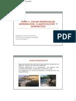 Tema 1. Aguas Residuales%2c Recoleccion%2c Clasificacion y Normativa