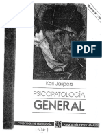 5- Psicopatología General-karl Jaspers