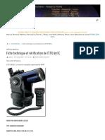 Fiche Technique Et Vérification de l'ETX 90 EC – a S T R O L a B O . Com
