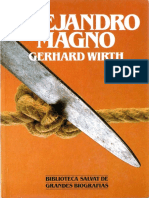 Alejandro Magno G. Wirth Biblioteca Salvat de Grandes Biografias 084 1985