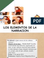 ELEMENTOS DE LA NARRACION 5º.pptx