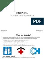HOSPITAL Literature
