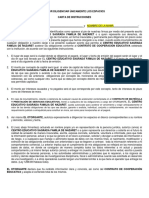 Ejemplo Diligenciar Pagare y Carta de Instrucciones