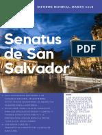 Informe Marzo 2018 San Salvador