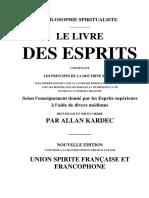 Allan Kardec Le Livre Des Esprits