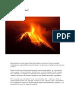 volcanologia