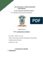 Informe 2 Tec Azucar