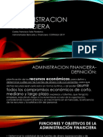 Administracion Financiera Primer Diapositiva Clase