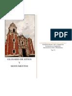 Glosario de Sitios y Monumentos