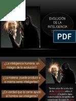 Evolución de La Inteligencia