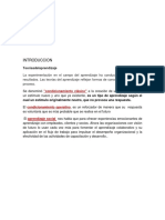 Psicologia Indrustrial- Teorias Del Aprendizaje
