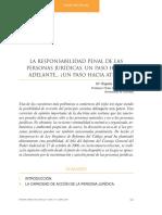 Cod Español Responsabilidad de Las Personas Jurídicas(Cuadrado Ruíz Granada)